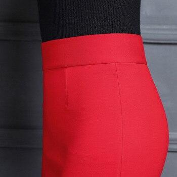 2019 New Women Skirt Work Fashion Stretch Slim High Waist Pencil Skirt Bodycon Sexy Mini Office Work Skirt Free Shipping 4
