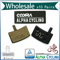 Bicycle Disc Brake Pads For Hayes Stroker Trail Stroker Carbon Stroker Gram Disc Brake Resin Black