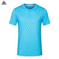 새로운 남성 T 셔츠 남성 축구 유니폼 Survetement 축구 키트 빠른 건조 테이블 테니스 배드민턴 스포츠 티