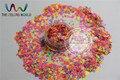 FR3-43 Mix Nacarados Colores Del Arco Iris Forma de La Mariposa Del Brillo de Las Lentejuelas, Lentejuelas para nail art decoración tamaño: 3mm 1 paquete = 50g