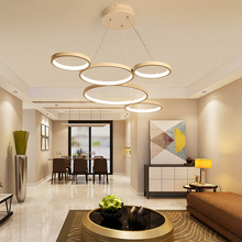 Minimalism Modern LED Pendant Lights for Dining Kitchen Room Living Hanging Suspension Lamp Free delivery to the do