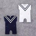2016 лето ползунки хлопка младенца Темно восхождение одежды младенца комбинезон одежда мальчик babysuit для новорожденных боди комбинезоны