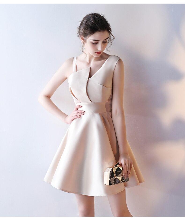 2017 moda de nueva corto party dress plus size dress robe de soirée prom vestido