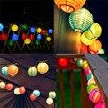 5 M Colorido Lâmpada 20 LEDs Luz Da Corda Lanterna Movido A Energia Solar IP44 Led Solar Luzes do Partido de Feriado de Casamento Decoração de Casa Quente venda