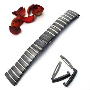 Image 5 - 20mm 29mm 32mm Ceramic Watch Band Wristwatch for Rado Sintra Series Strap Brand Watchband Man Woman Black