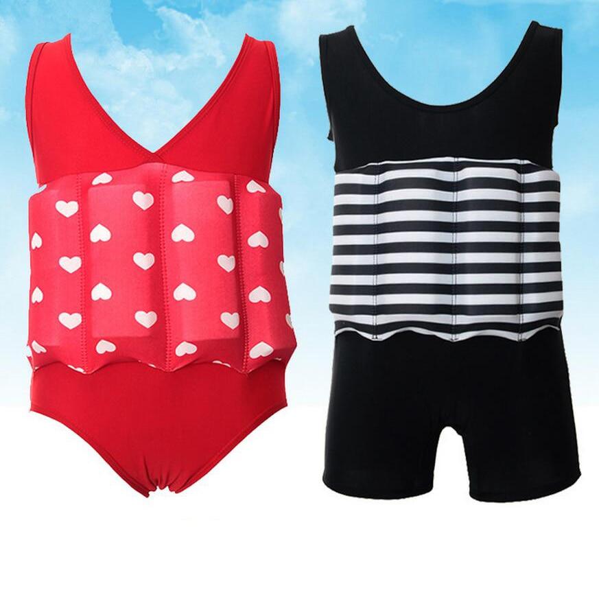 New Arrival Child Swimming Trunks Shorts Children's Swimwear Kids Buoyancy Swimsuit Baby Boy Girl Swim Vest for Safe Drifting