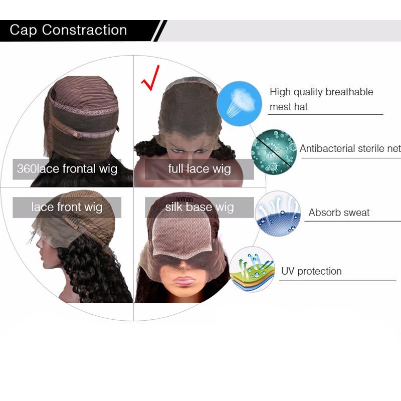 Glueless Πετσέτα Πλήρης Lace Ανδρικά μαλλιά - Ανθρώπινα μαλλιά (για μαύρο) - Φωτογραφία 6