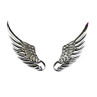 D Three Dimensional Car Decoration Stickers Diy Personalized Car - Car sign with wings