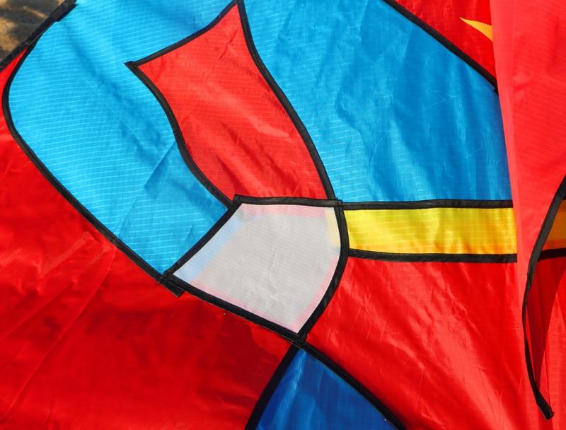 Высокое качество, стиль, 2 м, воздушный змей с Суперменом, большой воздушный змей, летающий с ручкой, детские игрушки для улицы, воздушные змеи Wei