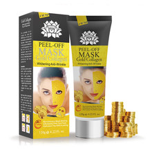 120g/60g 24K Yellow Gold Collagen Facial Peeling Mask Anti Wrinkle Blackhead Remover Mask Acne Treatment for Skin Care TSLM1(China)