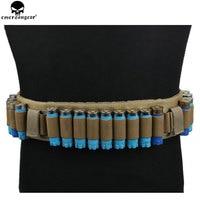 EMERSONGEAR Cartridge Belt Shot Gun Shell Belt 27 Round Ammo Shotshell Bullet Belt for 12/20GA Airsoft Hunting Belt EM1734