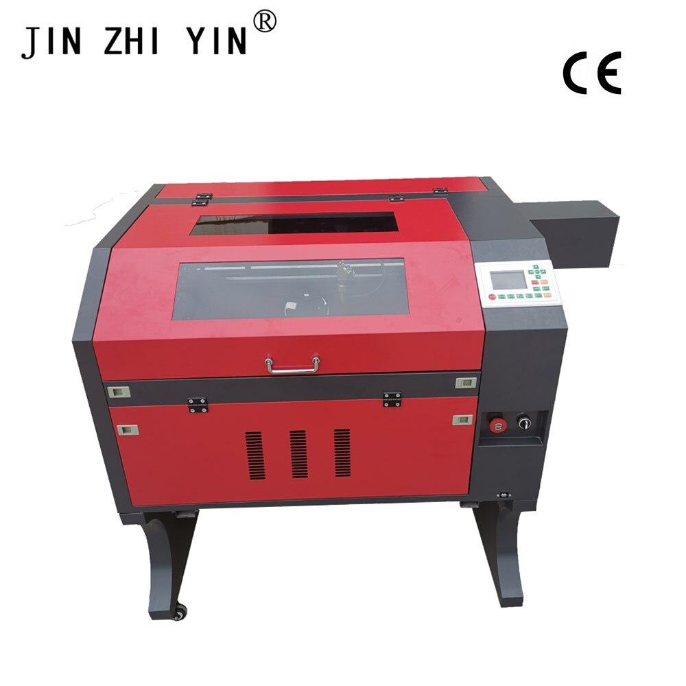 Ruida System Laser Engraving Machine 4060 60w Co2 Laser Engraving Cutting Machine Engraver