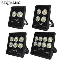 1Pcs Ultra Bright LED Floodlight COB 100W 200W 300W 400W Flood Lights Warm Cold White Lighting  Projector Light