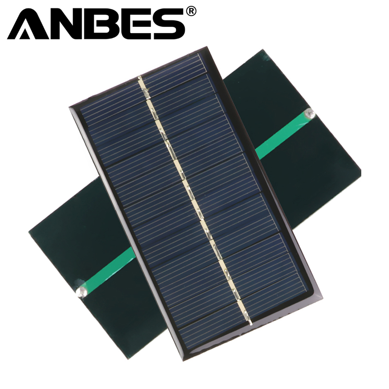 100% Quality Solar Panel 0.5w 5v Portable Module Diy Small Solar Panel For Cellular Phone Charger Home Light Toy Etc Solar Cell Electronic Components & Supplies Active Components
