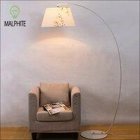 Nordic Fishing standing lamp Modern Bedroom floor lamp lighting lamp stand light free standing lamps for living room luminaire