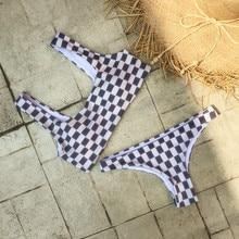 Female Sexy Bikini Style Geometric Square
