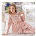 2016 nova Pijama para mulheres Pijama Femme mulheres de roupas de casa de Pijama Pijama Feminino Pajama define mulheres Pigiami Pijama Entero