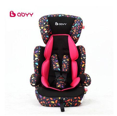 Abyy asiento de coche asientos de seguridad con certificación CCC de LA CEPE cinco puntos de fijación tipo de niño asiento de coche de niños de 9 meses-12 años de edad