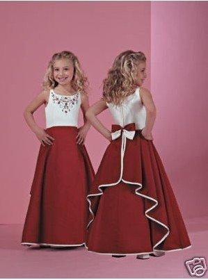 Free Shopping !! / girl's party dress/ Little girl's dress/  children's gown/  flower girl dress