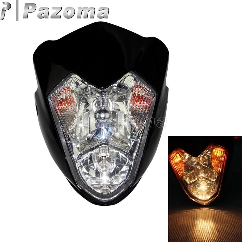 Pazoma Black MINI Motorcycle Streetfighter Motocross