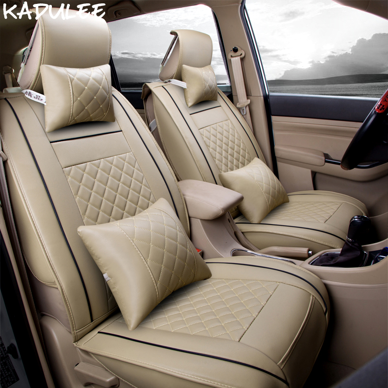 Automobiles Seat Covers Competent Kadulee Pu Leather Car Seat Cover For Chevrolet Cruze Spark Citroen C Elysee Vesta Zotye T600 Renault Symbol Car Seats Protector Interior Accessories