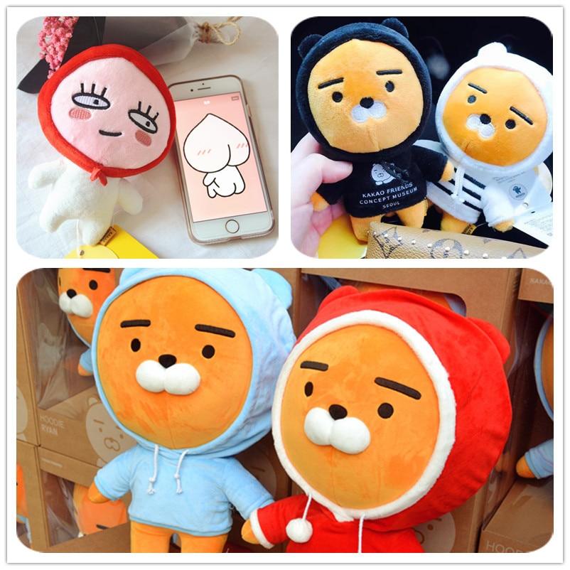 Kakao Friends Ryan Same Style Cute Little Baby Lion Plush Dolls Stuffed font b Toys b