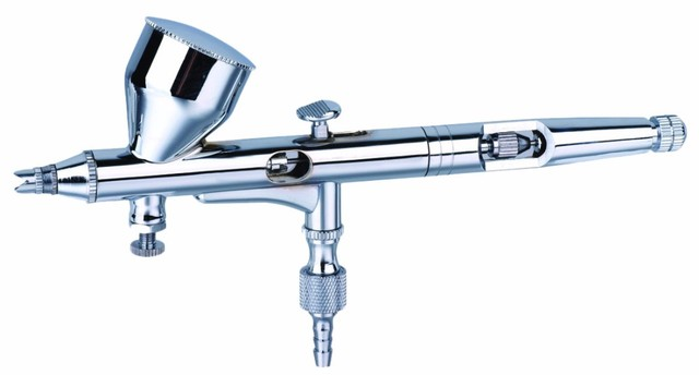 0.2mm Caneta Dupla Ação Air Brush Spray de Dupla Ação Airbrush Gun Pulverizador caneta para Nail Art/Spray de Tatuagens No corpo/Cake/Brinquedo modelos