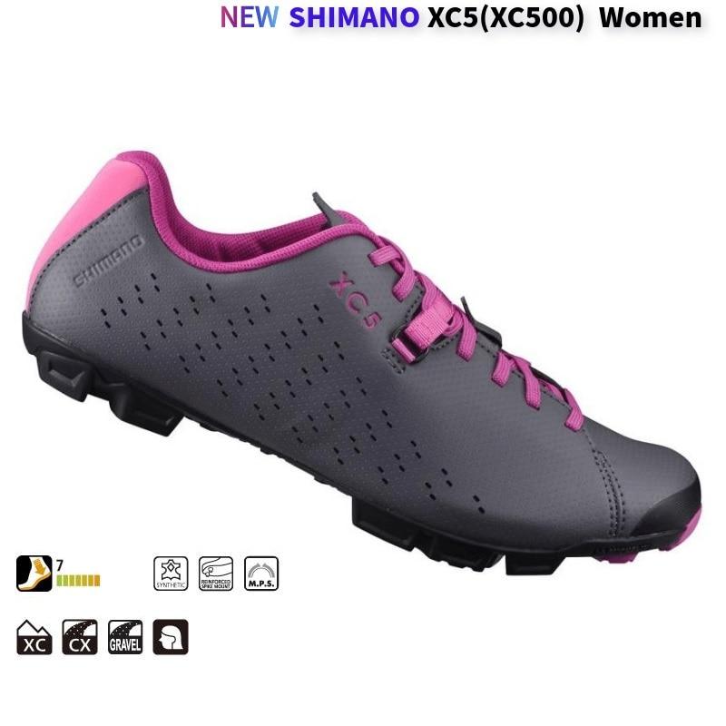 Neue Shimano Frauen Sh-xc5 xc500 Mtb Enduro Schuhe Sh Xc5 Mtb Lock Schuhe Xc5 xc500 Radfahren Schuhe xc500