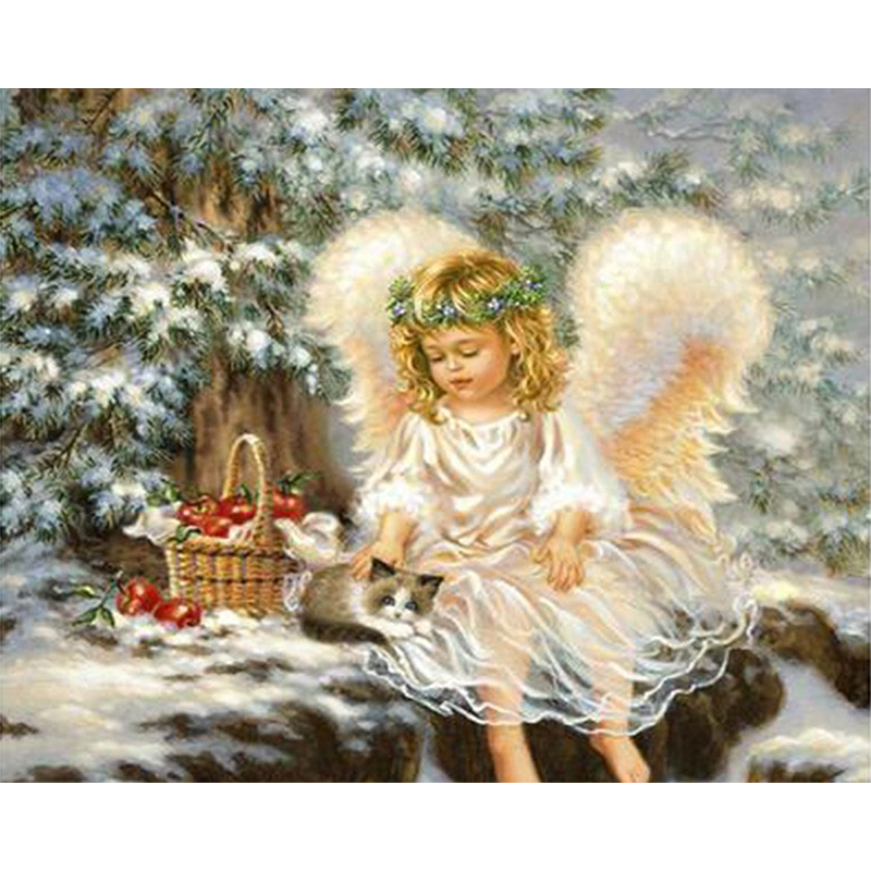 Открытки на рождество ангел