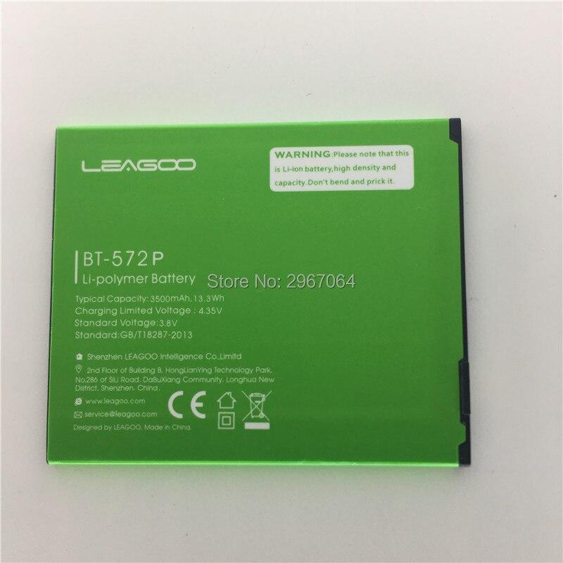 Mobile téléphone batterie LEAGOO M5 MAX BT-572P batterie 3500 mAh batterie D'origine 5.7 pouces MTK6580A LEAGOO téléphone batterie