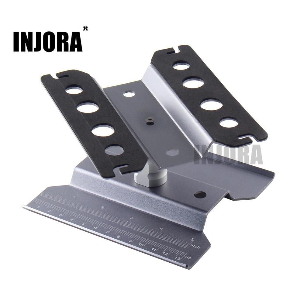 Metal Repair Station Work Stand Assembly Platform For 1/10 1/8 RC Car Traxxas TRX-4 Axial SCX10 90046 D90 RC Crawler Tamiya HSP