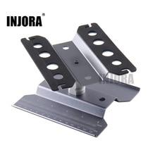 Metal Repair Station Work Stand Assembly Platform for 1/10 1/8 RC Car Traxxas TRX 4 Axial SCX10 90046 D90 RC Crawler Tamiya HSP
