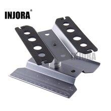 Station de réparation du métal, plate forme de montage pour voiture RC 1/10/1/8, Traxxas TRX 4 Axial SCX10 90046 D90 RC chenille Tamiya HSP