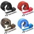 Пододеяльник с турбонаддувом для гонок T4  1 комплект  накидка + выхлопная труба  водопроводная накидка  красный/черный/синий/титан