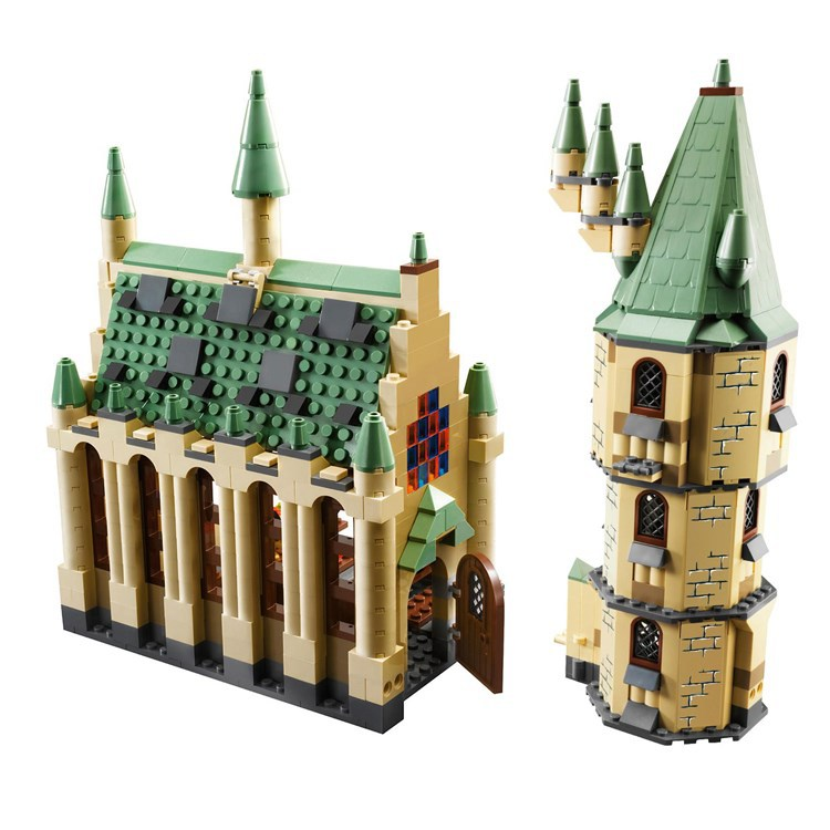 1340 Pcs Harry Potter Moc Series - Hogwarts Great Hall 4842