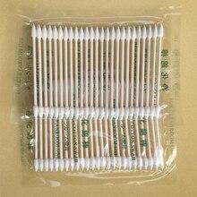 25x algodão vara descartável ferramenta de limpeza para apple airpods airpod caso para airpods fone de ouvido porta carga do telefone para apple airpods