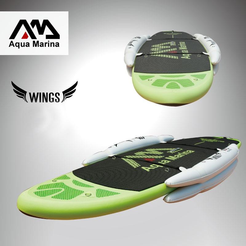 Stabilisateur gonflable stand up paddle board sup planche de surf accessoire nouveau joueur enfant planche ailes ISUP entraînement roue set B03022 - 3