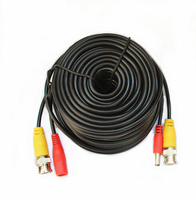 Hot Selling 20M CCTV BNC Cable Video Power Siamese Cable For Analog AHD CVI CCTV Surveillance