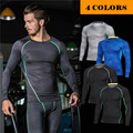 men compression t shirt long sleeve tight sportswear crossfit PRO fitness clothing quick dry tops tee for men o neck MA19