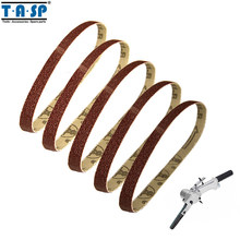 5 Pieces Sanding Belt 10X330mm 3/8x13 Grit 240 for Sander Power Tools Accessories