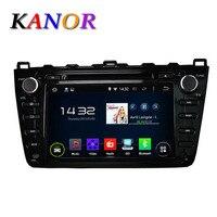 Black Android 4 2 Car Audio Stereo For Mazda 6 2008 2012 GPS Satnavi DVD Player