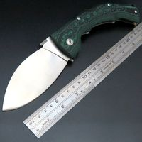 New Incoming EDC Tool Cold Steel Folding Knife Outdoor Survival Hunting Knives Mikata Handle Wide Blade