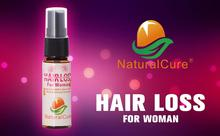 NaturalCure Anti Hair Loss Treatment Spray for WOMEN, Hair Tonic Oil Lotion, Protect Hair, Hair Growth Spray