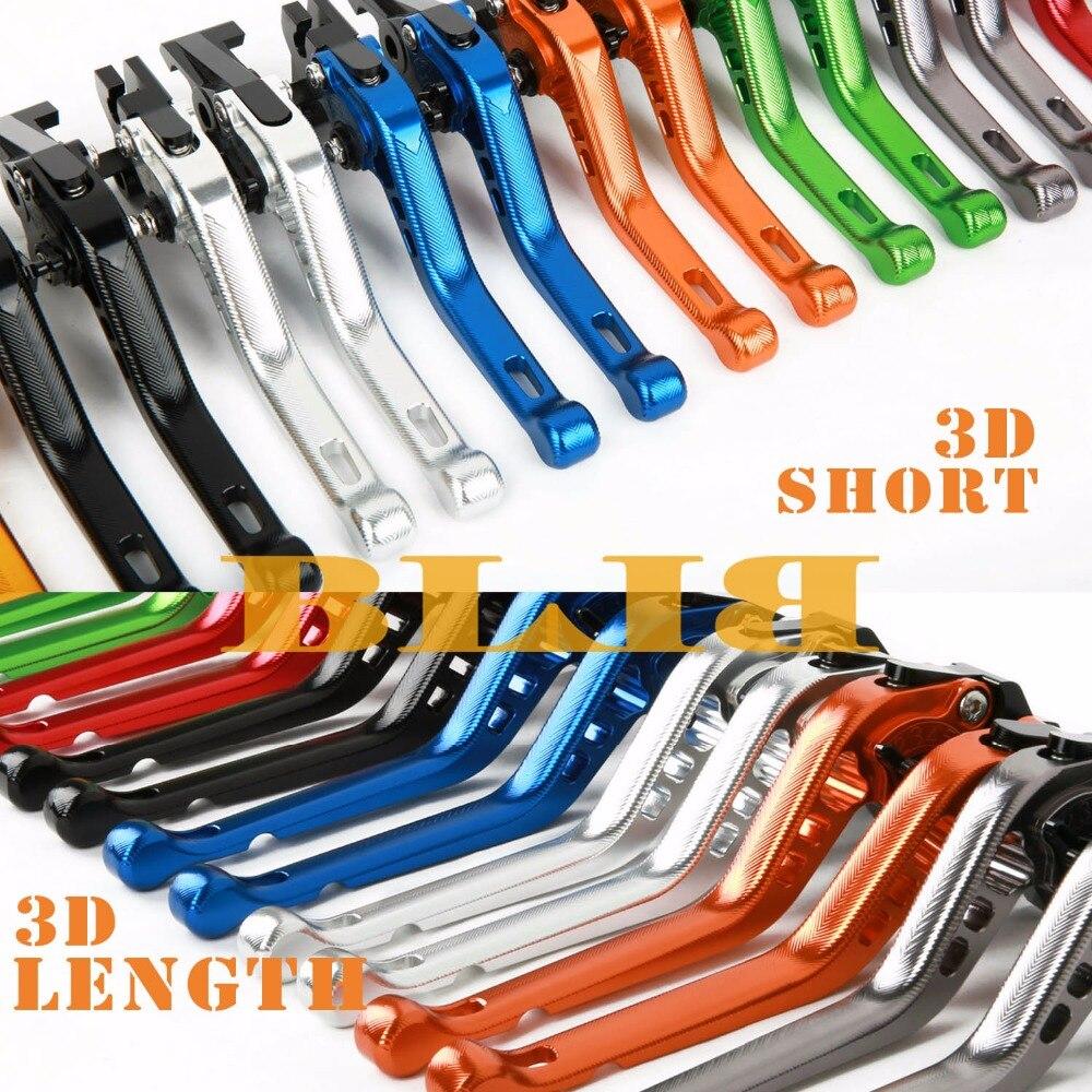 For Honda CBR125R CBR150R 2004-2012 CNC Motorcycle 3D Long/Short Brake Clutch Levers Moto Shortly/Longer Lever 2005 2006 2007