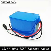 laudation 12V 10ah Battery 100% New High Capacity Protection 11.1V 12V Lithium Rechargeable Battery 12V 10000mAh Capacity Hot hot new nf4e 12v nf4e 12 nf4e 12v 12vdc dc12v dip15