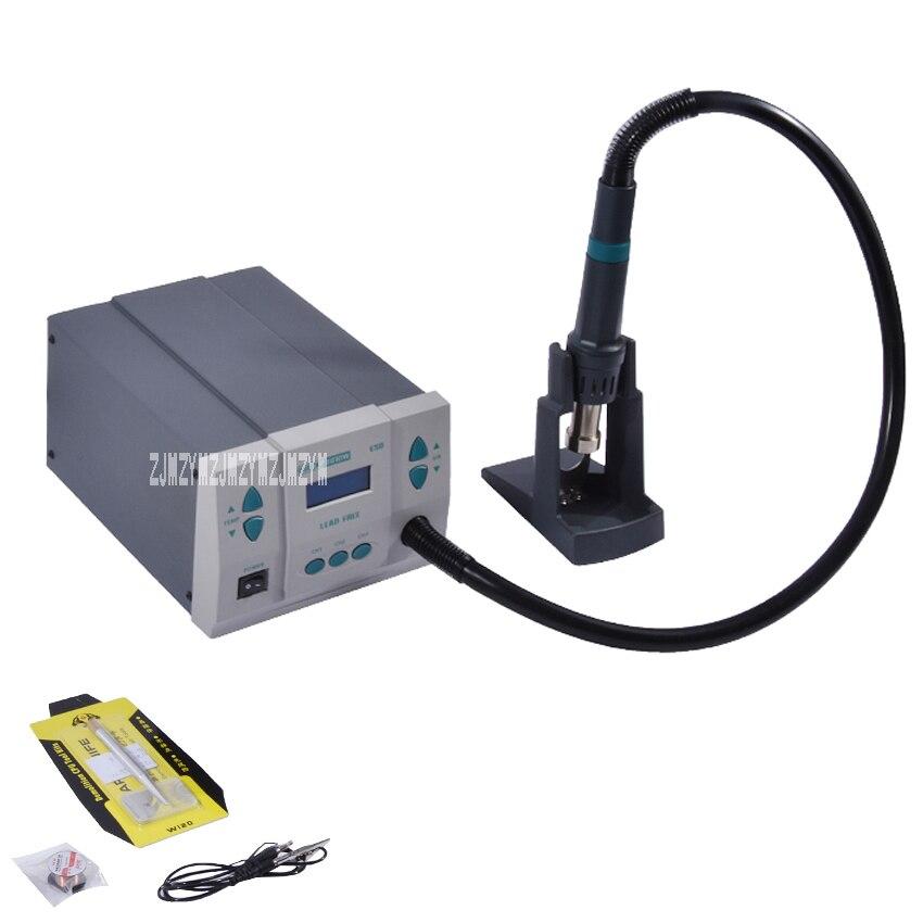 861DW тепловые пушки 1000 Вт питания бесплатный горячий воздух паяльная станция микрокомпьютер контроля температуры паяльная станция