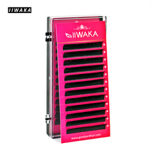 IIWAKA J B C D curl 0.05-0.25mm thickness premium synthetic individual eyelash extension