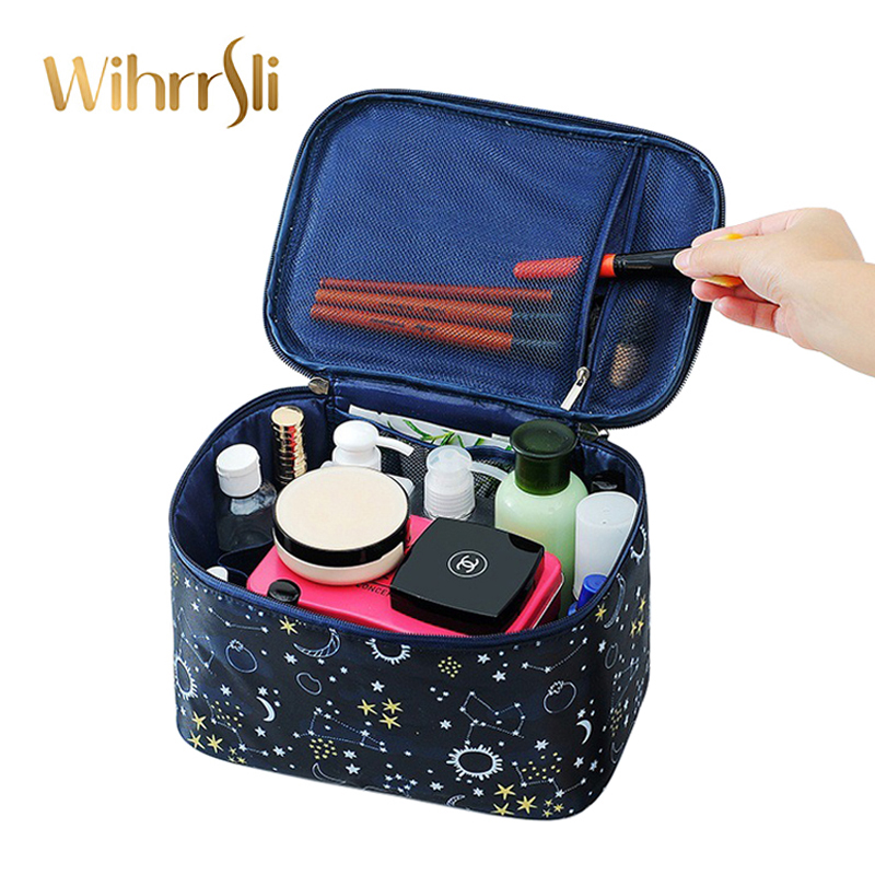 Woman Cosmetic Bag Beautician Needed Accessories Makeup Beauty Case Toiletry Travel Organizer For Suitcase Pouch High Capacity
