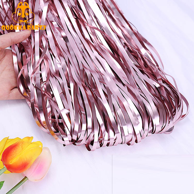 3ftX8ft Wedding Photobooth Backdrop Tinsel Foil Fringe Curtains Birthday Party Curtain Decorations Baby Show Sequin