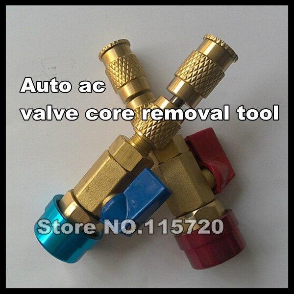 Авто кондиционер воздуха R134a клапан средство для удаления сердцевины, игольчатый клапан core